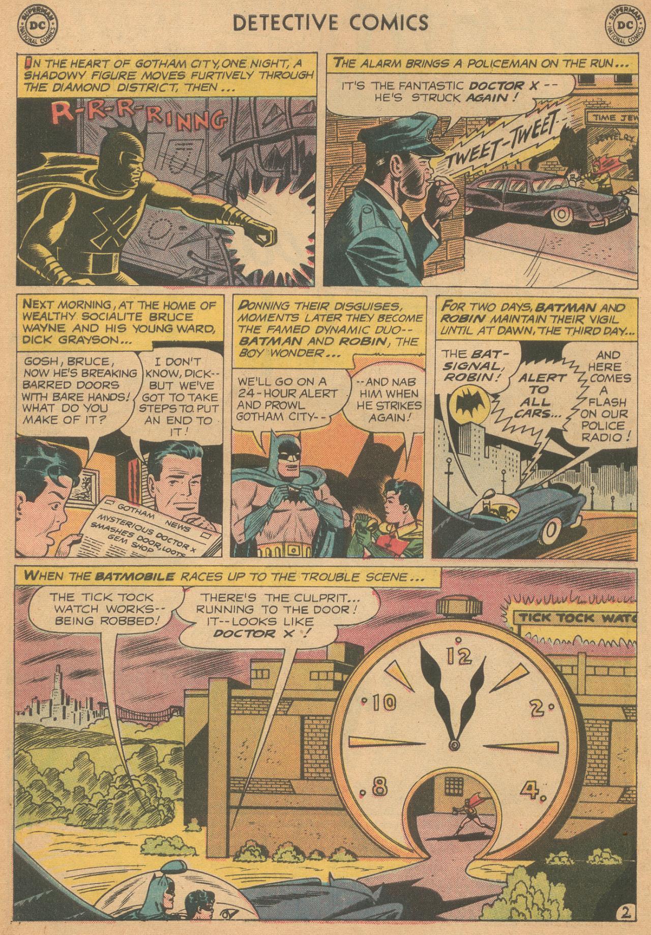 Read online Detective Comics (1937) comic -  Issue #261 - 4