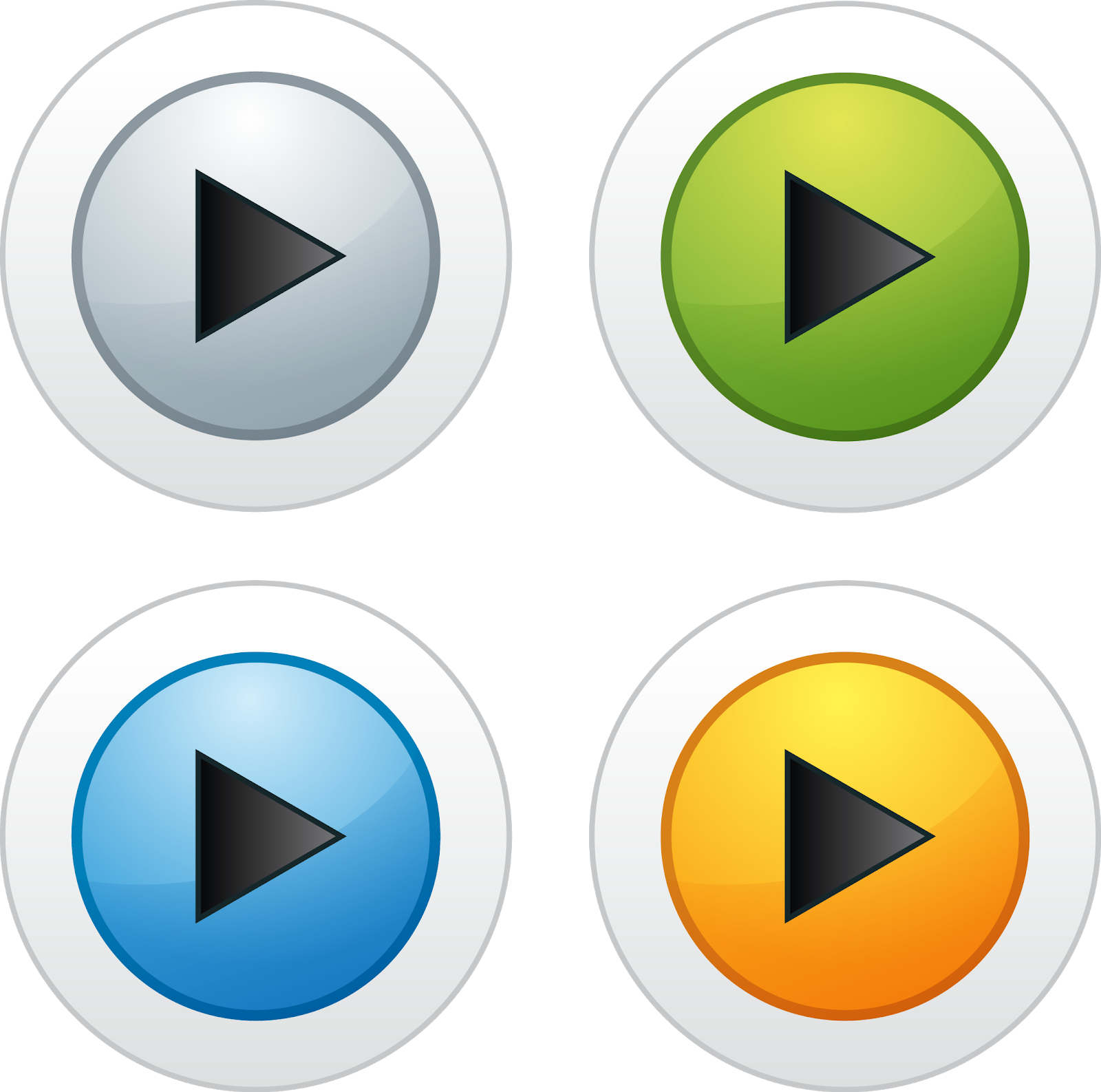 play icons buttons downloadsvg eps png psd ai vector color