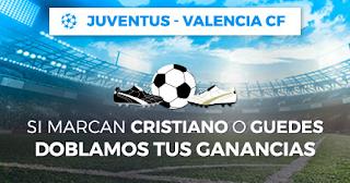 Paston promocion Juventus vs Valencia 27 noviembre