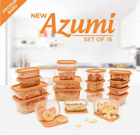 Dusdusan Technoplast New Azumi Set of 18 ANDHIMIND