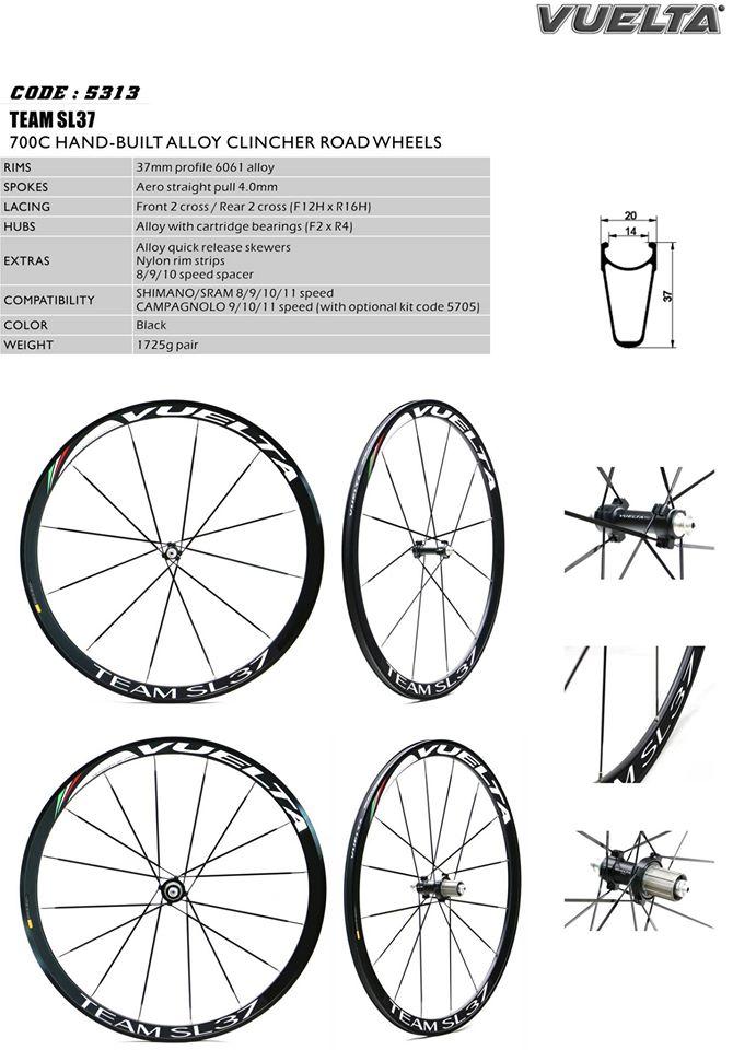 CHOO HO LEONG (CHL) Bicycle: Vuelta 700C Alloy Clincher