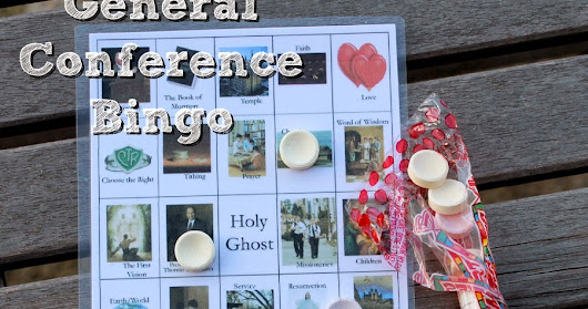 LDS General Conference FREE PRINTABLE Bingo Cards!