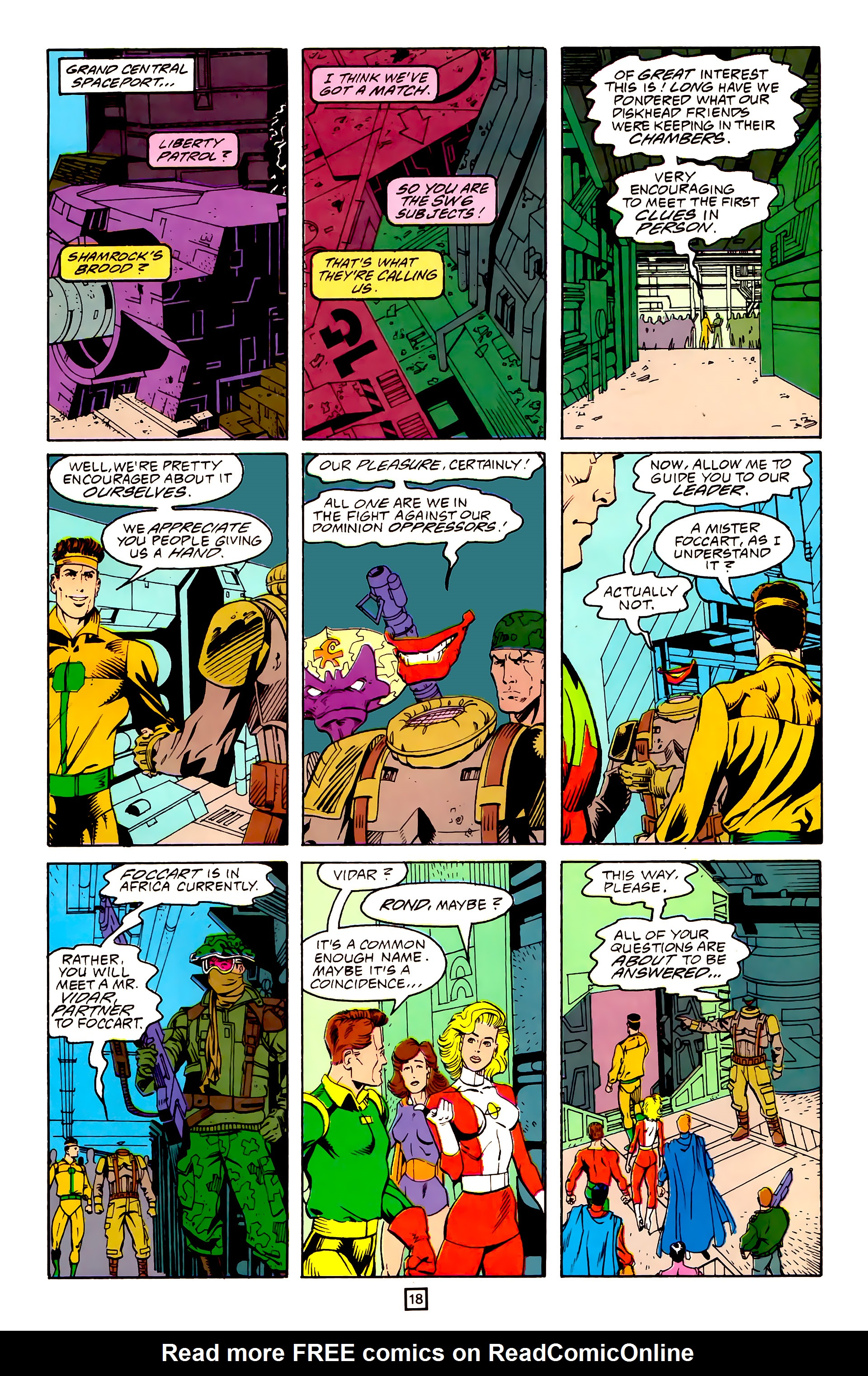 Legion of Super-Heroes (1989) 25 Page 18