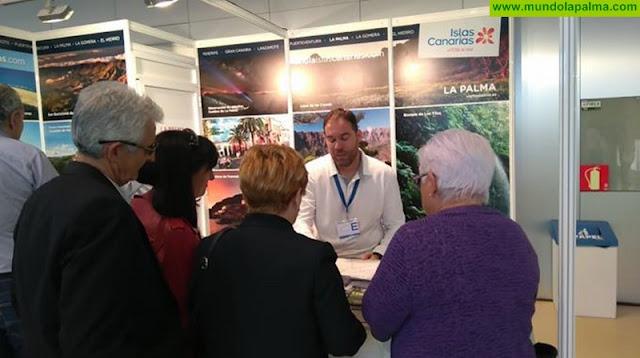 La Palma promociona sus atractivos turísticos en Aratur, el Salón Aragonés del Turismo