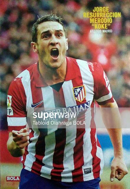 Poster Jorge Resurreccion Merodio (Atletico Madrid 2013)