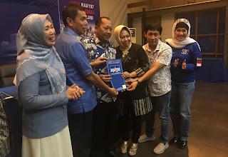 Rekomendasi Partai Demokrat Diberikan Kepada Pasangan Soehadi Moeljono dan Mitro'atin