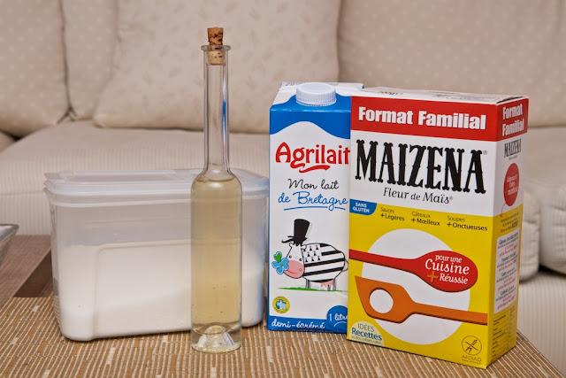 Crème de lait -Ichta - Liban - dessert - milk - lait - maïzena - Orient cuisine recette