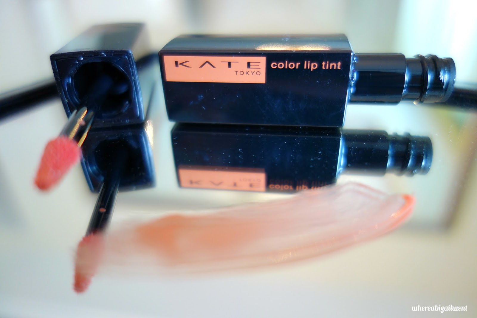 Kate Tokyo Color Sensor Lip Tint BE-1 Swatch