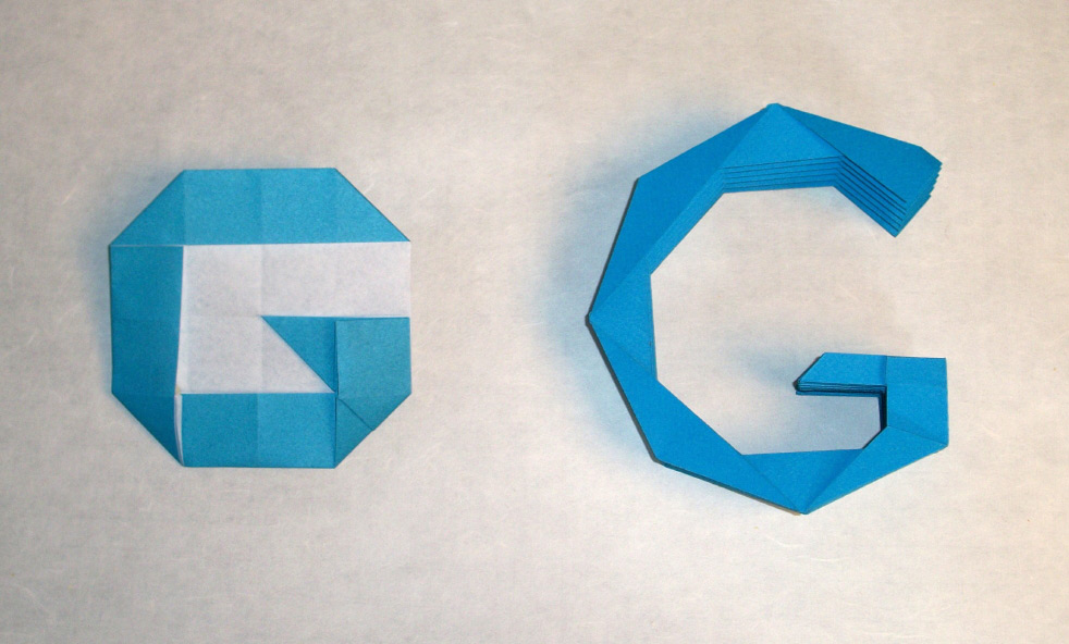 Official Google Blog Adding An Origami Doodle To The Fold