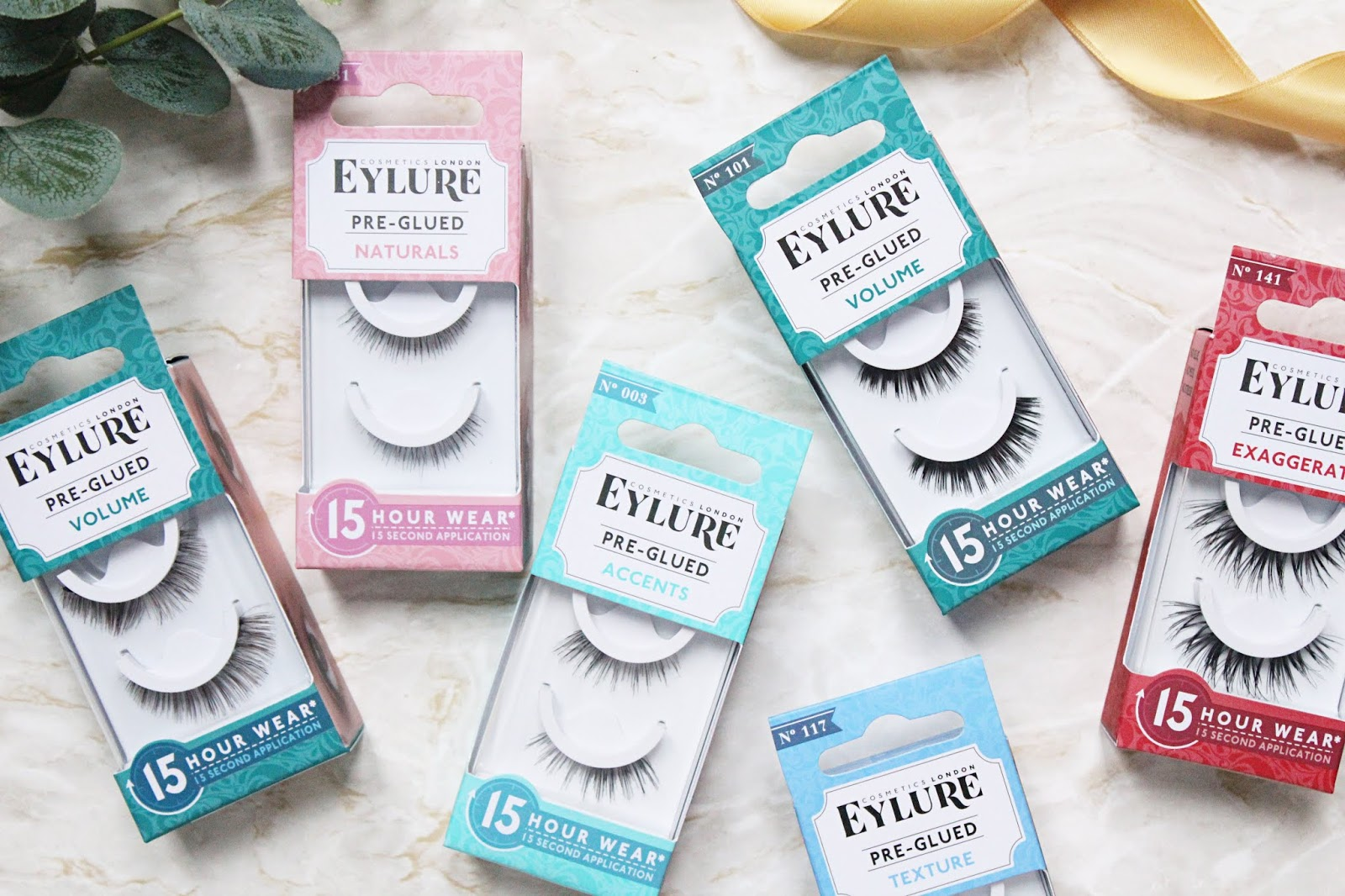 Eylure Pre-Glued Lash Collection