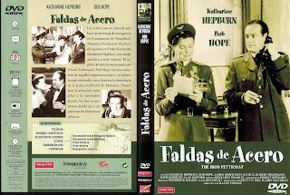 Carátula dvd: Faldas de acero (1956) - DescargaCineClasico.Net