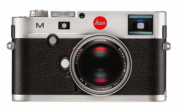 Fotografia della Leica M Typ 240 nel colore silver