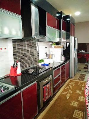 dekorasi rumah dengan kitchen cabinet