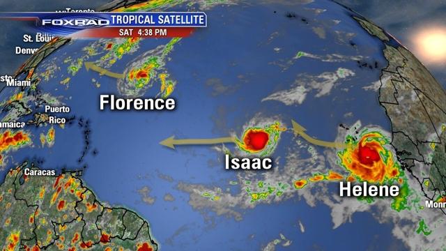 Isaac se convierte en huracán