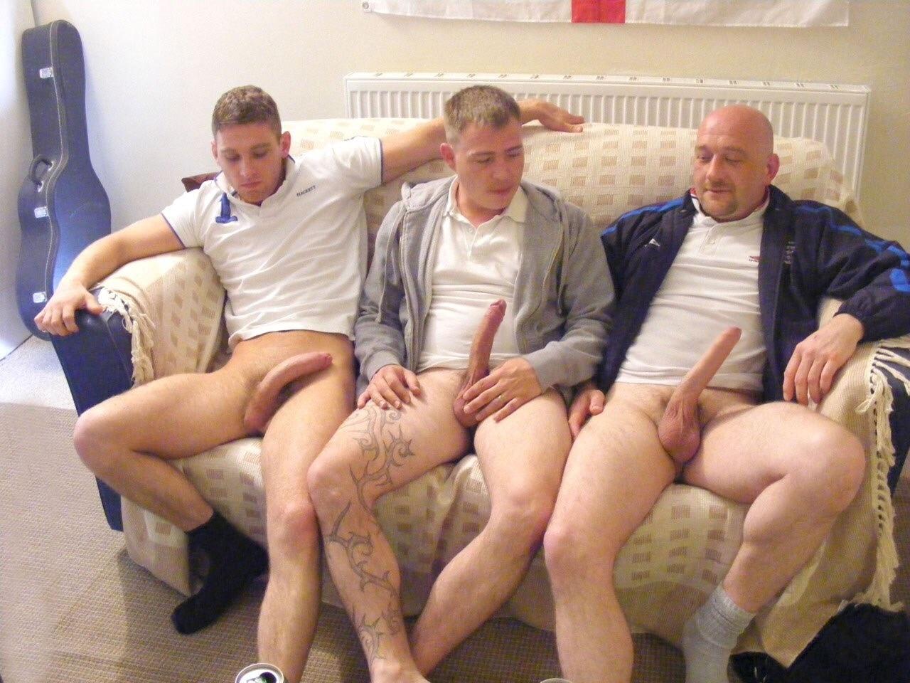 2 older guys teach 2 cute twins 5