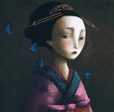 Imagen de Los Amantes Mariposa libro escrito e ilustrado por el ilustrador francés Benjamin Lacombe