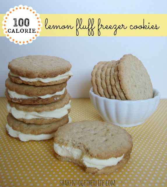 Lemon Fluff Freezer Cookies