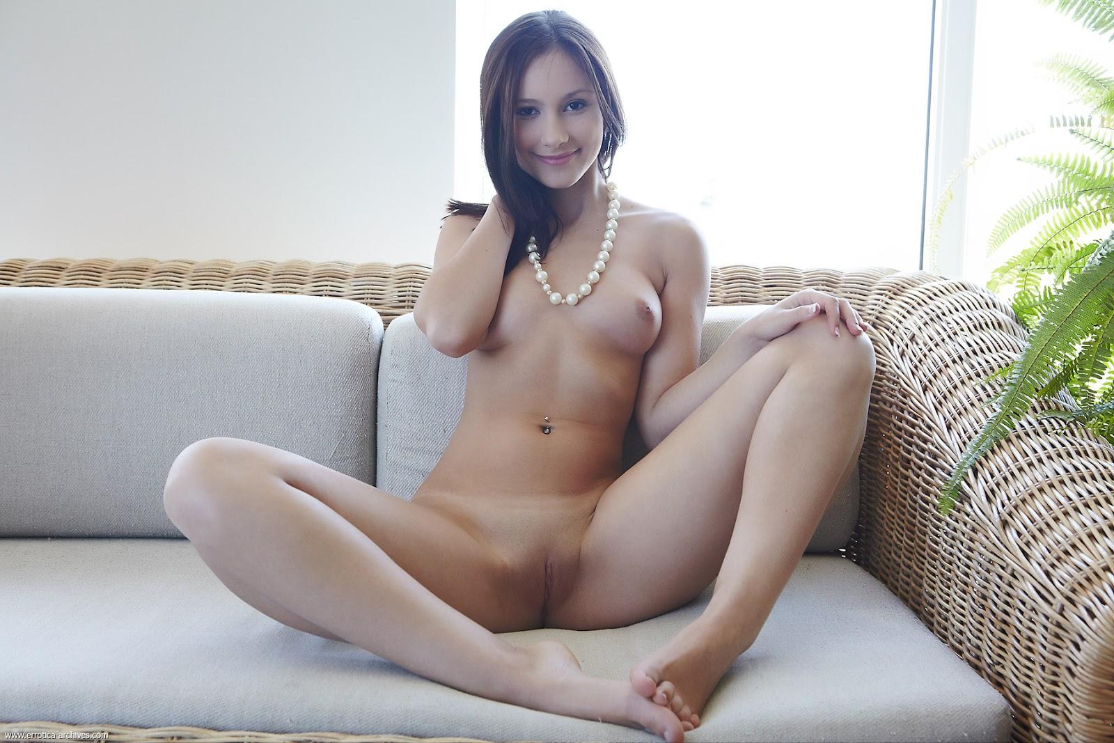 Naked vicky