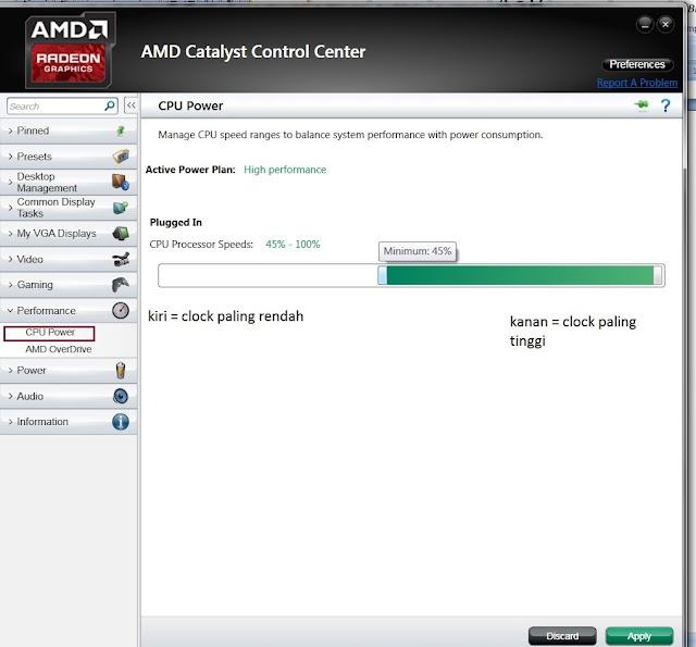 Cara Mengatur AMD Turbo Core