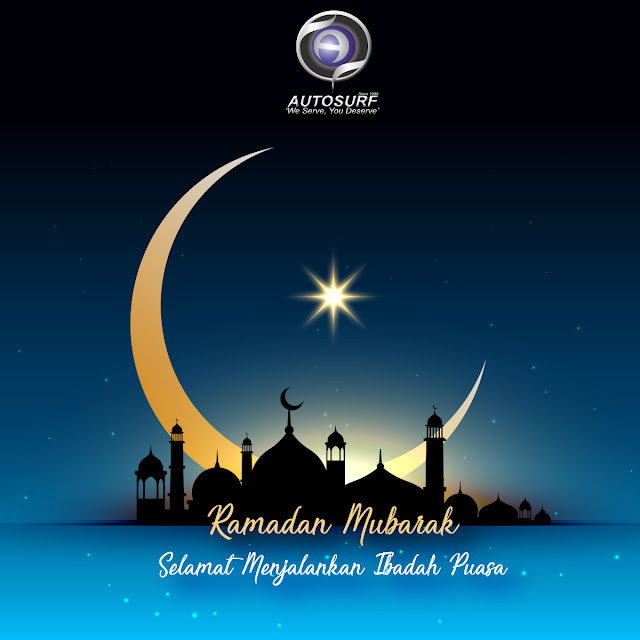 Happy Ramadan Mubarak to our Muslim customers and all Muslims in the world.