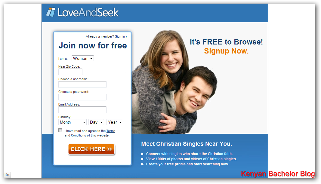 Christian dating site for kenyans in u.s
