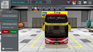 Livery Bus Bussid Sari Mustika Link Download SHD