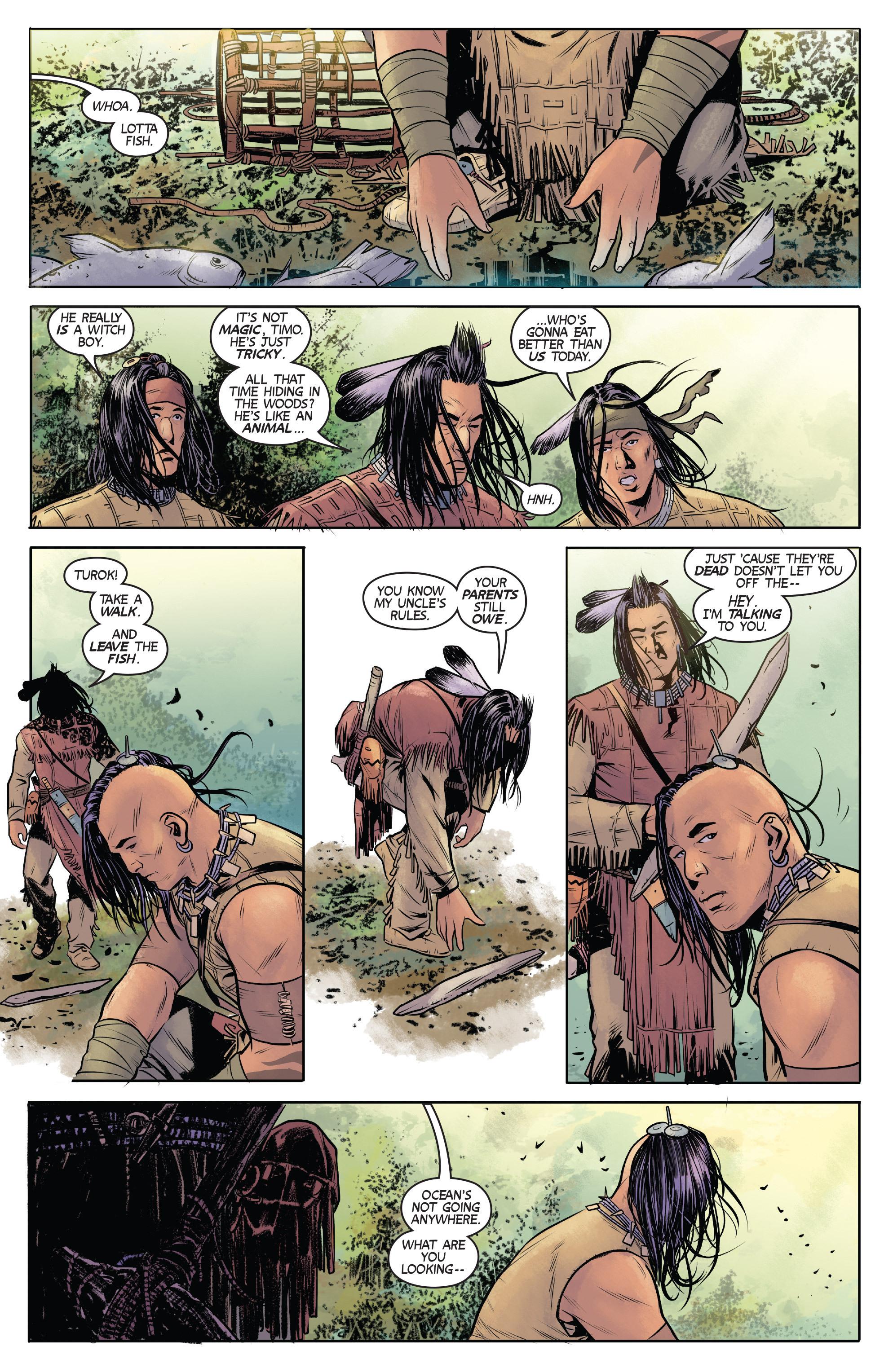 Read online Turok: Dinosaur Hunter (2014) comic -  Issue # _TPB 1 - 10