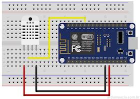 NodeMCU sensor de temperatura DHT22