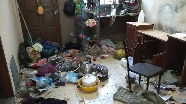 Nasib malang rugi RM2500 kerana penyewa rumah Pengotor Ya Amat.