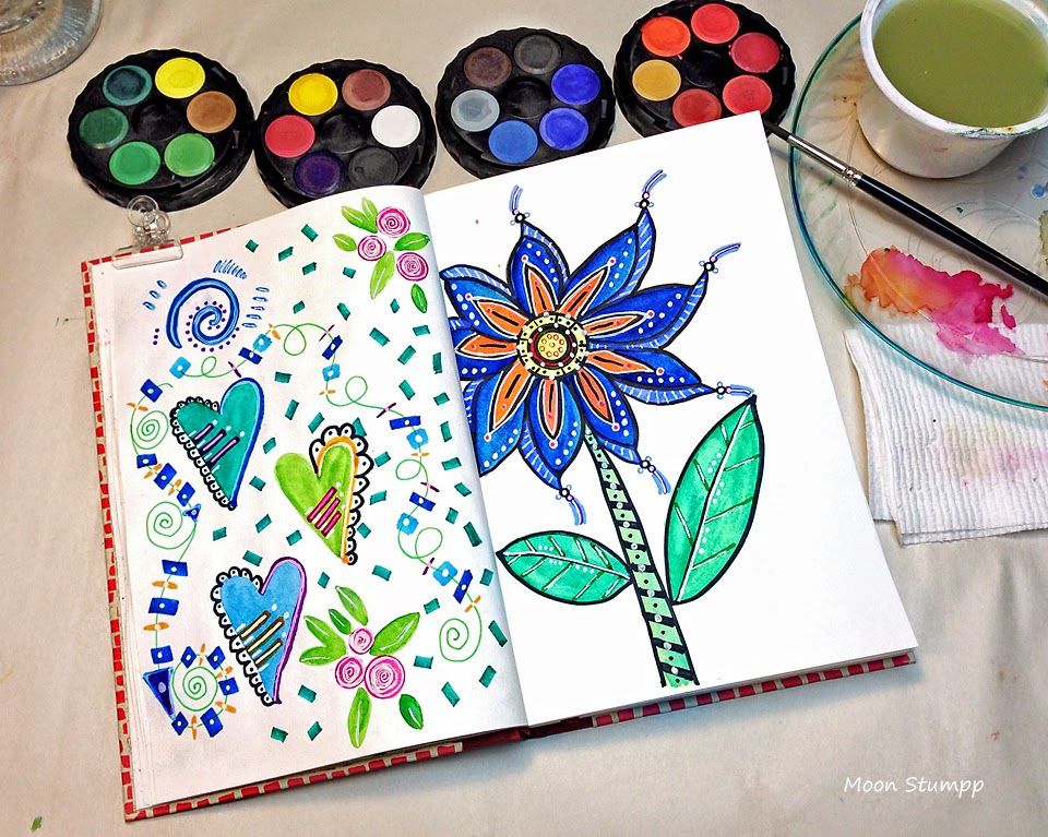 How To Use Faber Castell Watercolour Paint Cakes