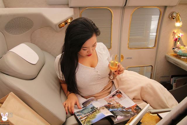 Emirates A380 first class