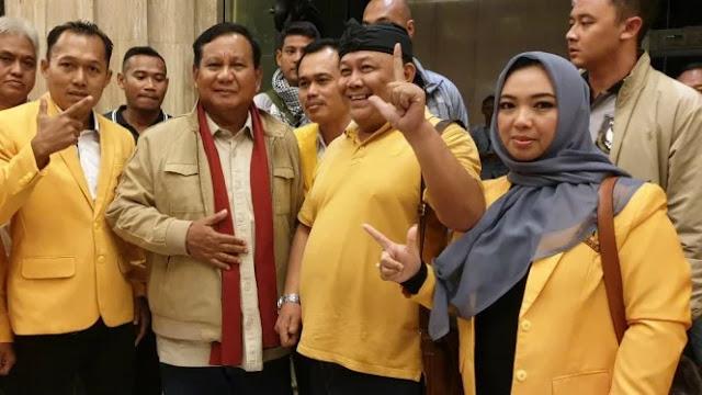Kader Terang-terangan Dukung Prabowo, Golkar Jateng Mulai Waspada