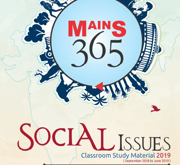 VISION IAS Mains 365 Social Issue