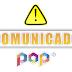 COMUNICADO POP TV SOBRE MANUTENÇÃO DO VOD CONFIRAM - 29/04/2019