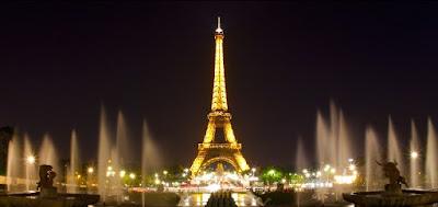 Tempat Wisata Menara Eiffel di Paris, Perancis