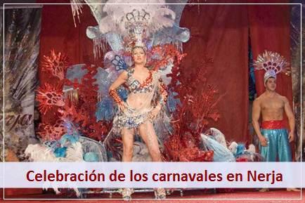 Podrá disfrutar de los Carnavales que se celebran en Nerja