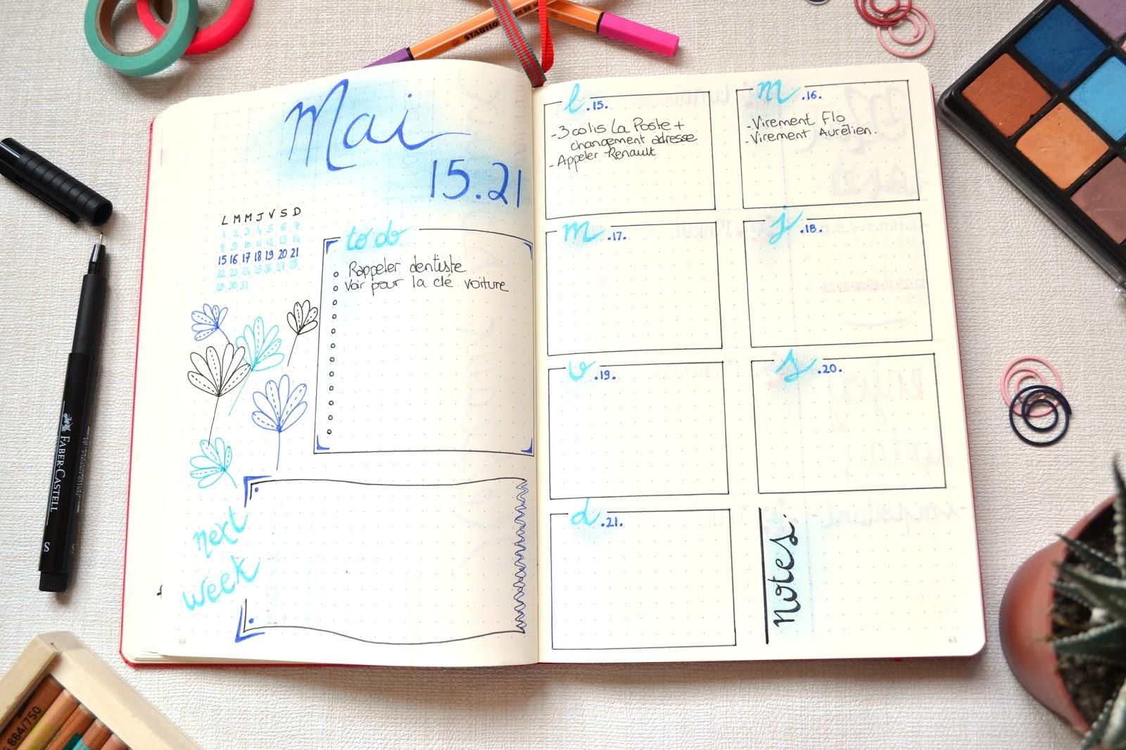 Blog L'univers de Mel: Bullet Journal : bilan après 4 mois ...