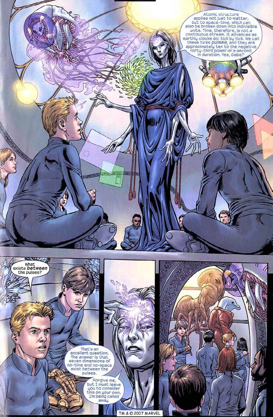Read online Silver Surfer (2003) comic -  Issue #9 - 21
