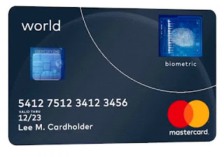 Mastercard unveils Credit card with fingerprint scanner