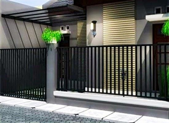 Gambar Pagar Rumah Modern
