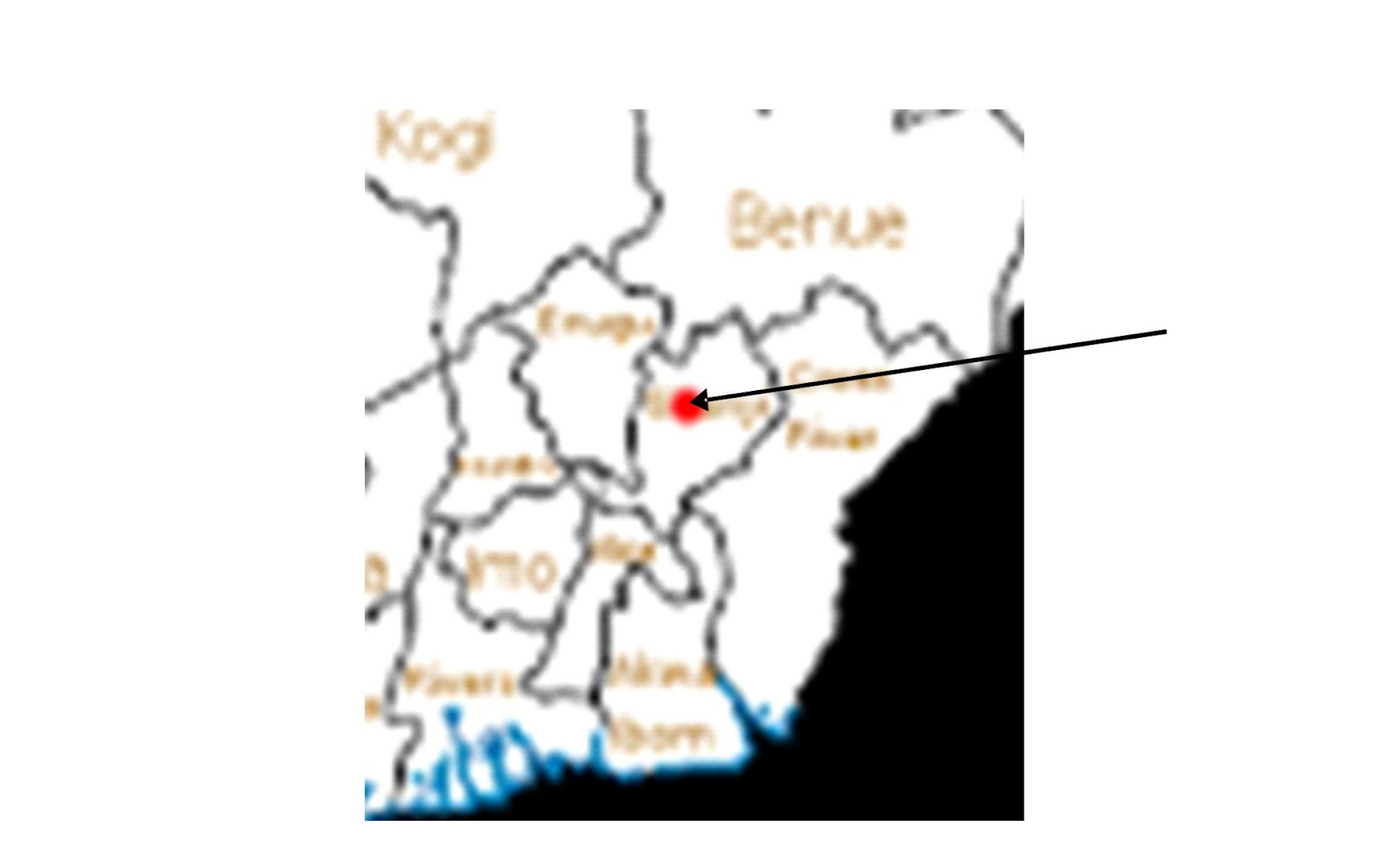 quite enigmatic apart from all the states mentioned looking at the nigeria map shown above it is apparent that benue and cross river are bounded behind