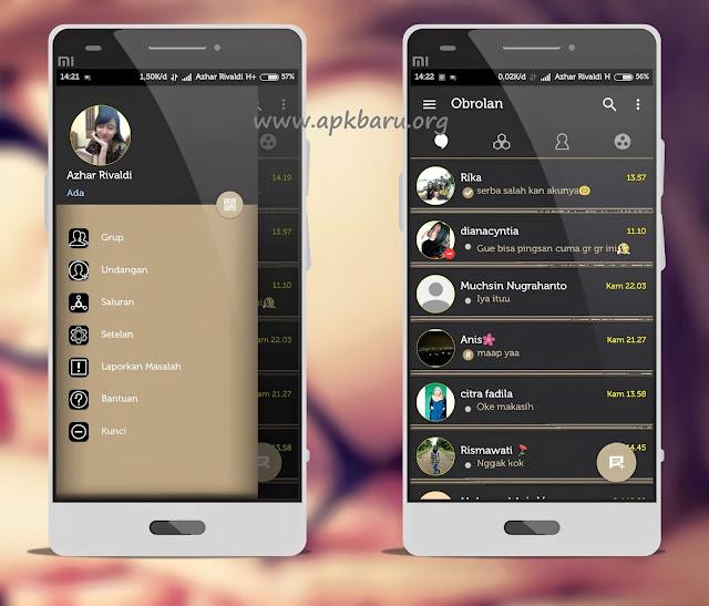 BBM Mod Aksara V3.3.7.93 Apk Terbaru