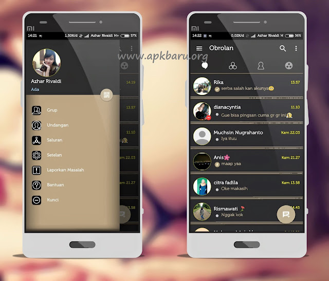 Download BBM Mod Aksara v3.0.0.18 Apk
