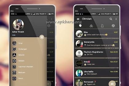 BBM Mod Aksara v3.0.0.18 Apk Terbaru