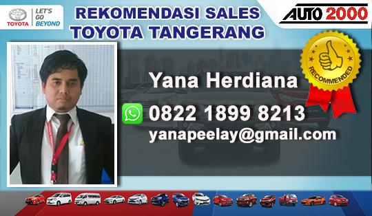 Rekomendasi Sales Toyota Pakuhaji Tangerang