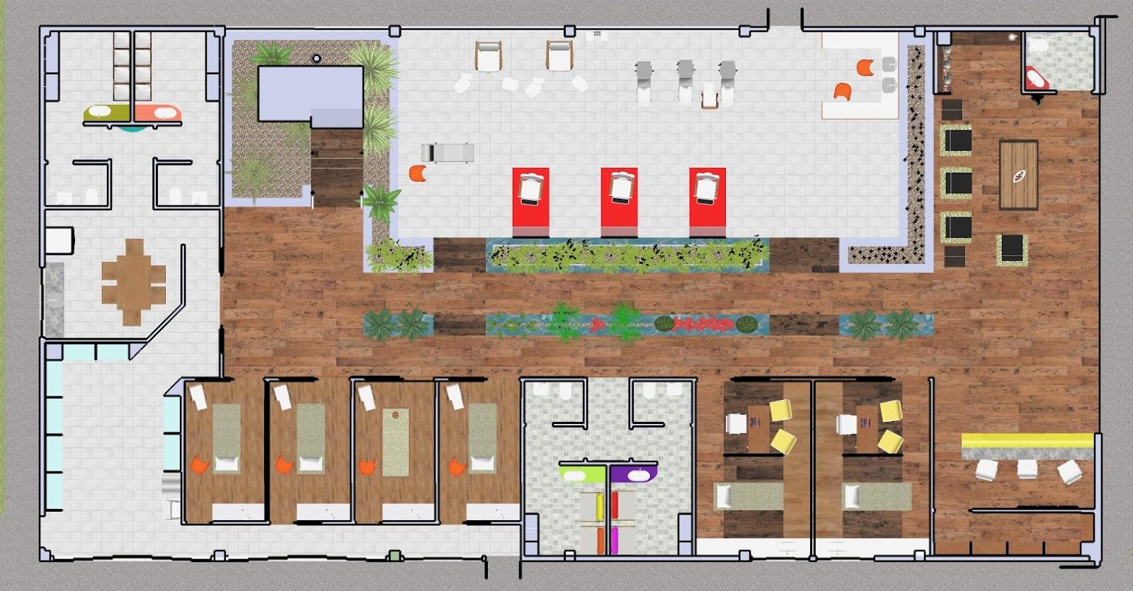 Design de interiores spa urbano - Spa urbano valladolid ...