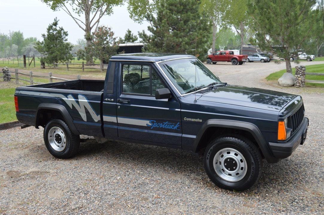 1991 jeep comanche sport 4x4 rare truck for sale. Black Bedroom Furniture Sets. Home Design Ideas