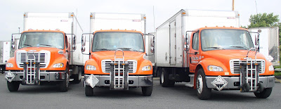 Truck fleet and fleet management