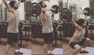 Virat Kohli Gym Images