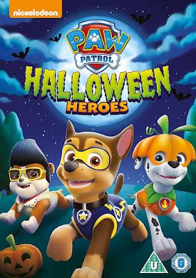 PAW Patrol Halloween Heroes 2017 DVD R1 NTSC Latino